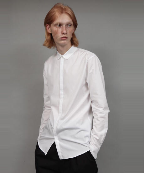 SHORT-POINT SHIRT/WHITE