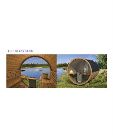 FULL GLASS BACK