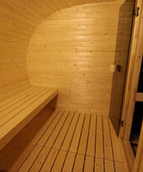 SAUNA MUSHROOM with terrace 240×400