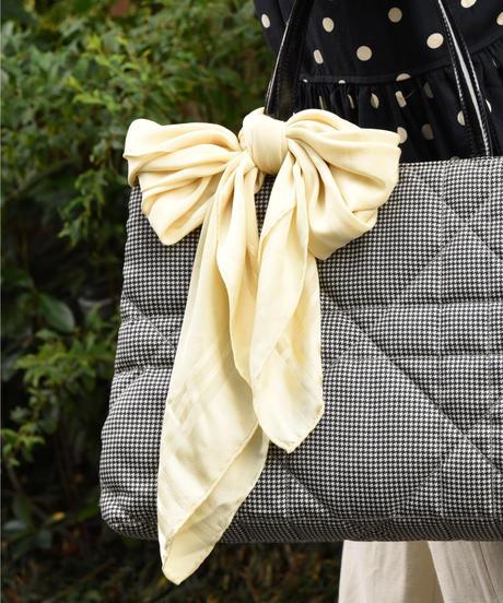 Christian Dior/ silk 100% vintage logo scarf.