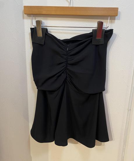 miumiu /vintage design black bare top.