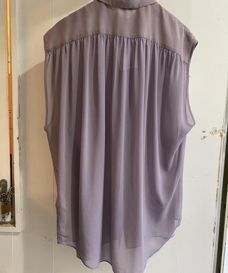 Acne studios / vintage purple see-through shirt.