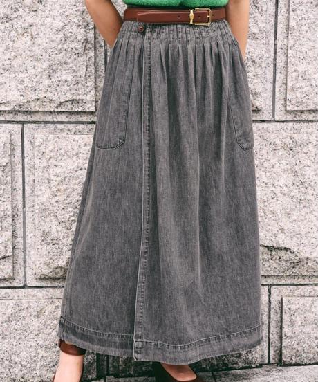 Ralph Lauren / denim long skirt