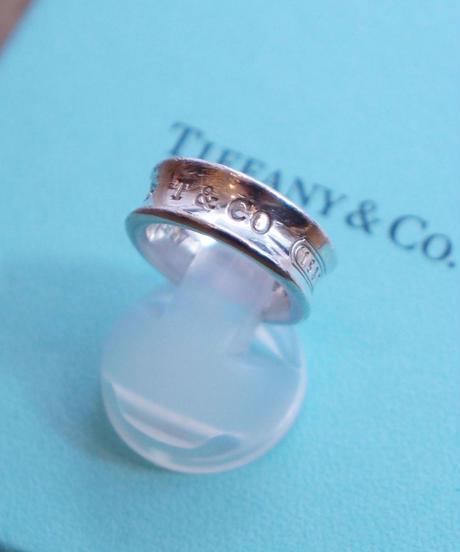 Tiffany&Co./ 1837 ring