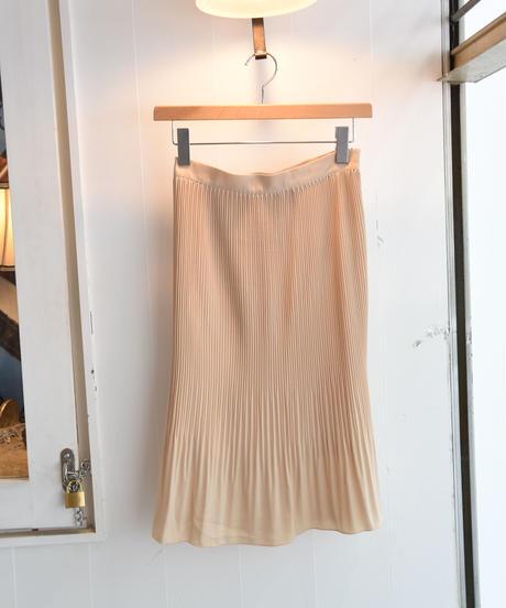 AURA/ pleats mermaid line skirt