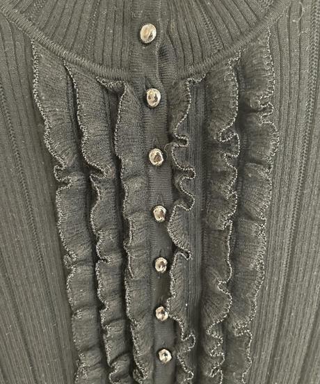 Burberry /  frill design long sleeve tops.(U)