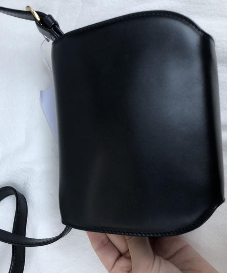 Salvatore Ferragamo/ vintage leather mini shoulder bag.