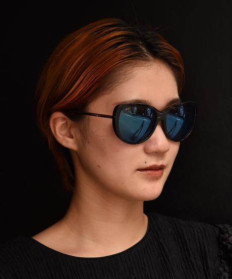 JIL SANDER/ vintage cat eye design sunglasses.  (blue)