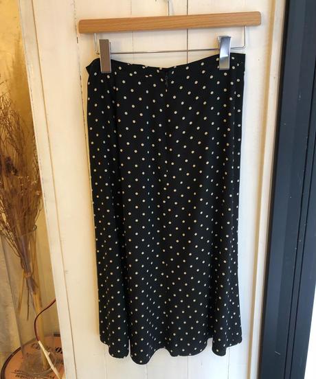 MaxMara/ flare dot midi skirt
