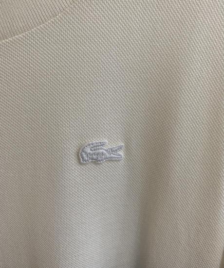 LACOSTE/ half sleeve design one-piece .