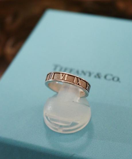 Tiffany&Co./ ATLAS  narrow ring