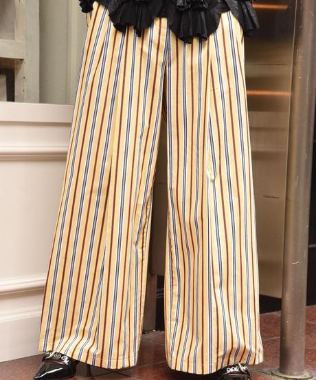 JIL SANDER /  vintage stripe design pants.