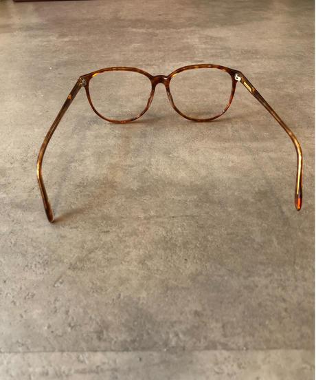 Ralph Lauren/ vintage tortoiseshell flame glasses.(U)