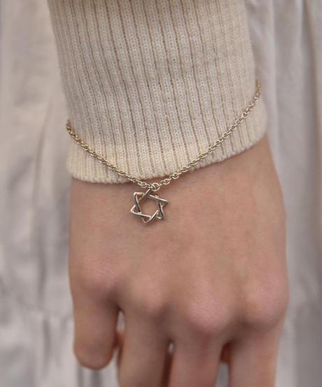 Tiffany&Co./vintage hexagram   bracelet.(U)