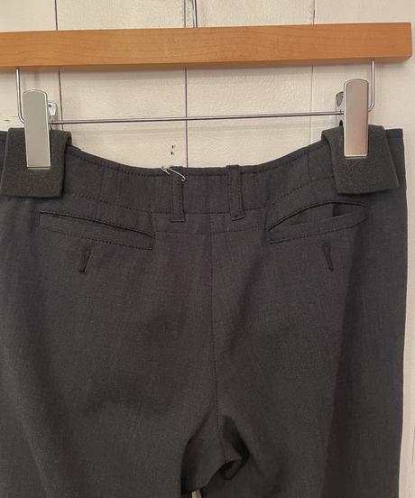 PRADA / vintage gray color slacks.