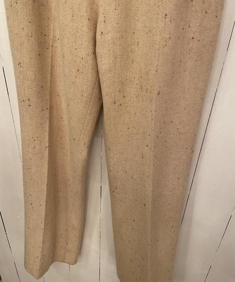Courreges / vintage wool slacks.