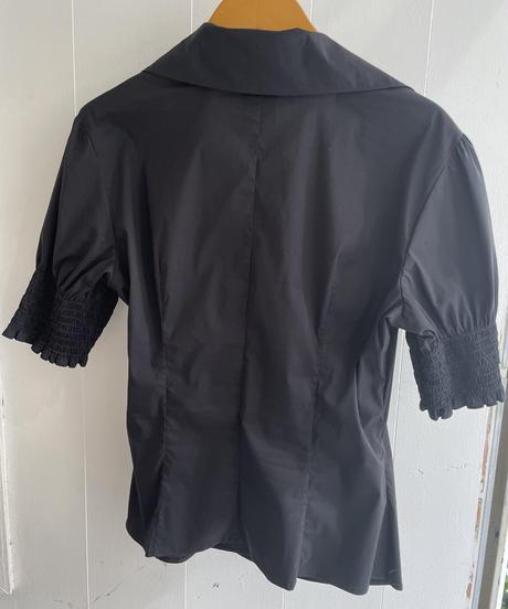 MaxMara  / vintage cache-coeur design  shirts.