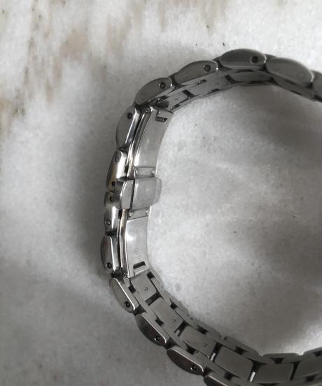 FENDI/ vintage silver quartz.  (M)