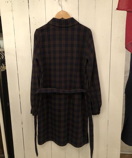 A.P.C. / Check pattern shirt one piece.(P)