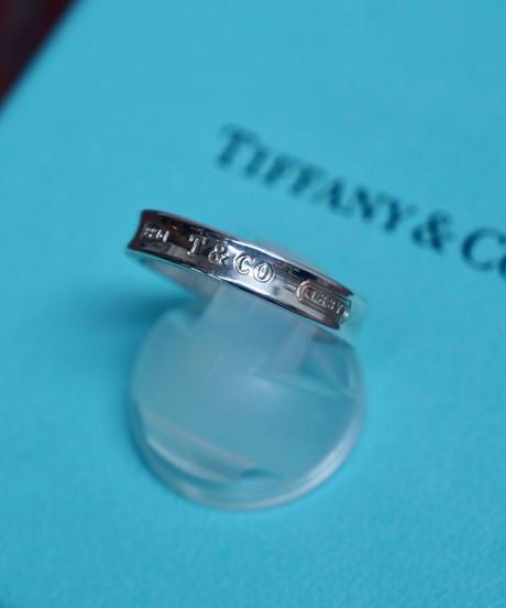 Tiffany&Co./ 1837  narrow ring
