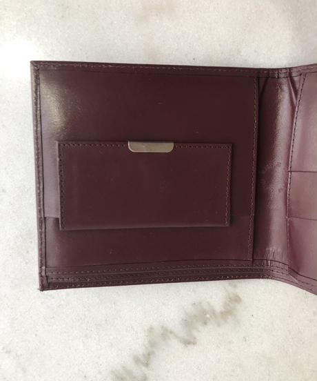 Cartier / must line vintage wallet.414011A(P)