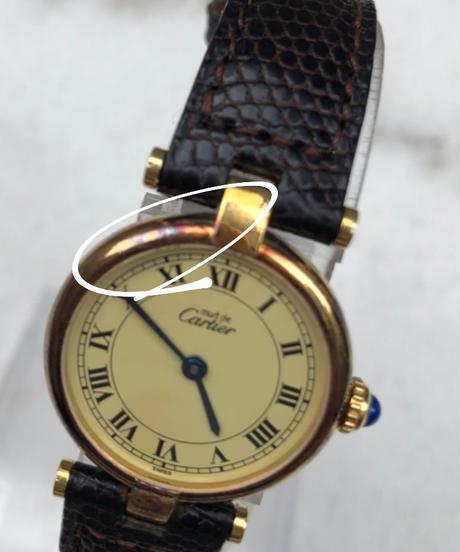 Cartier/vermeir brown belt.1058(S)