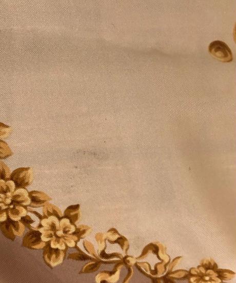 Christian Dior/ vintage flower scarf.