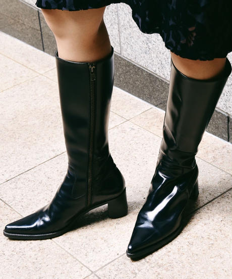 miumiu/pointed toe long boots