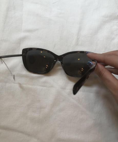 JIL SANDER/ vintage cat eye design sunglasses.