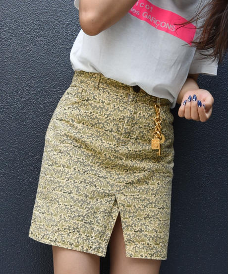 MARC BY MARC JACOBS/camouflage skirt