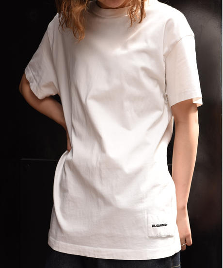 JIL SANDER / vintage logo white t shirt.