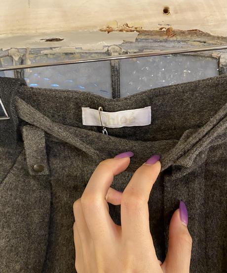 Chloe / vintage short pants. (U)
