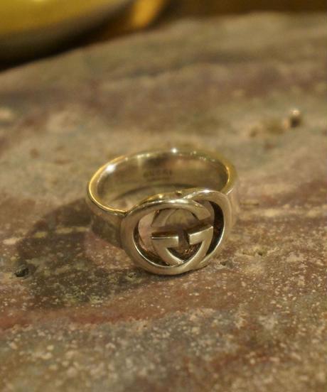 GUCCI/Interlocking G wide ring