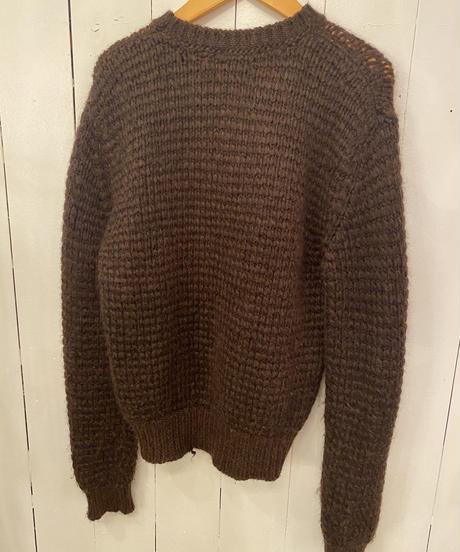 agnes b / vintage mohair knit.