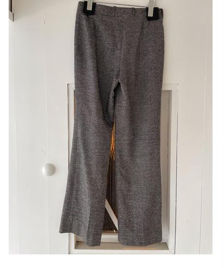 CELINE / vintage design wide pants.