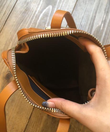 JIL SANDER / vintage leather mini hand bag.