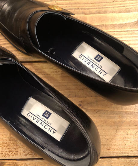 GIVENCHY/vintage G logo loafers