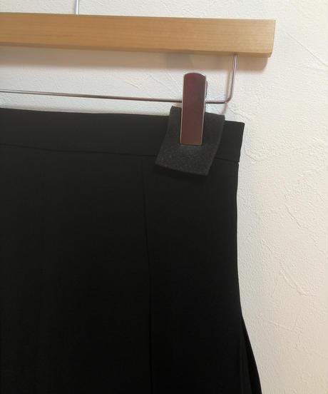 miu miu / vintage   black mini skirt.