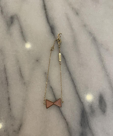 Chloe / vintage ribbon design bracelet.(P)