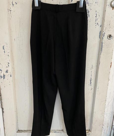 Max Mara / vintage black slacks.