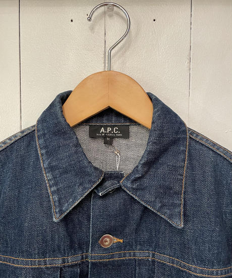 A.P.C / vintage iconic denim jacket.