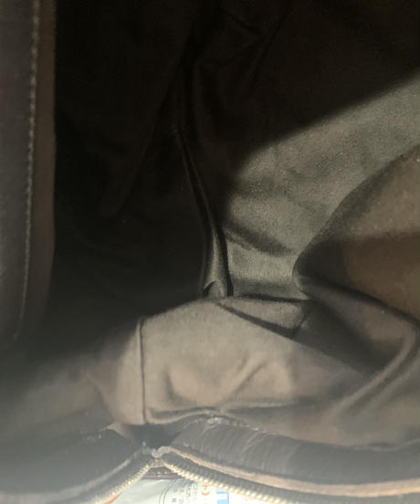 JIL SANDER / vintage barkbrown design hand bag.
