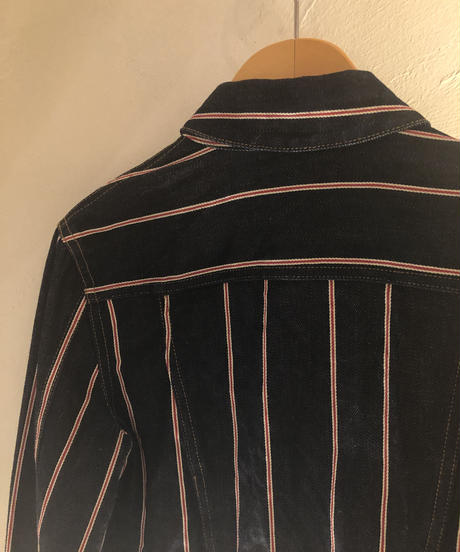 Alexander Wang / Stripe Design Denim jacket.