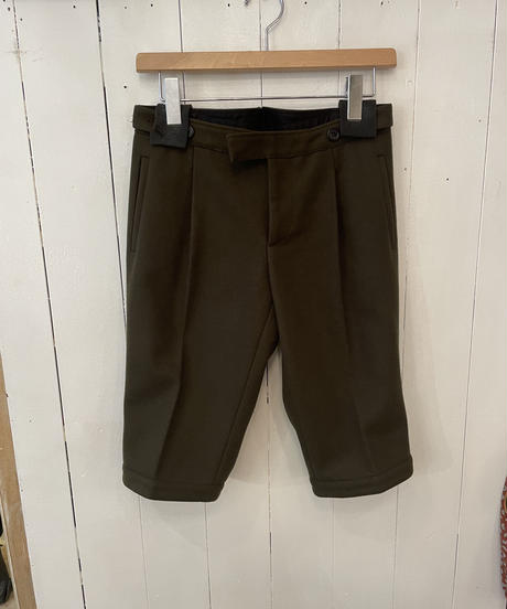 miu miu / vintage wool short pants.