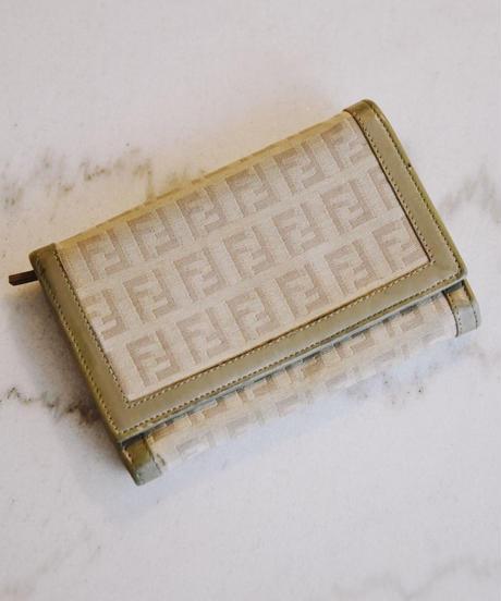 FENDI/zucca pattern wallet 4