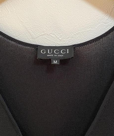 GUCCI/GG logo charm vest.