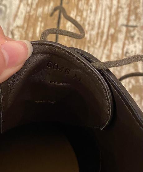 MACKINTOSH PHILOSOPHY/vintage design lace up shoes.