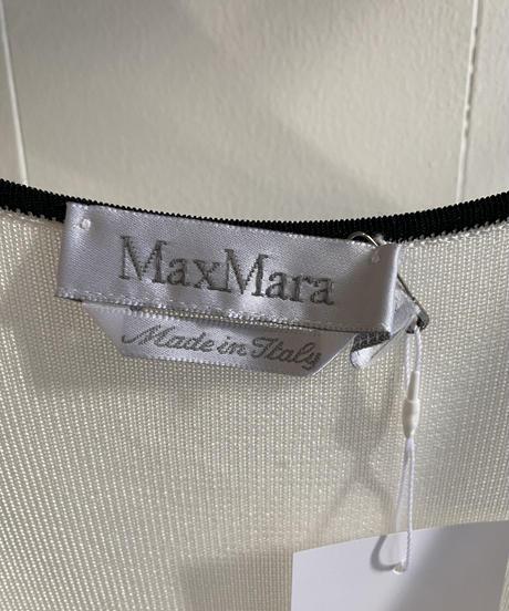 Maxmara  / bi-color tank top.