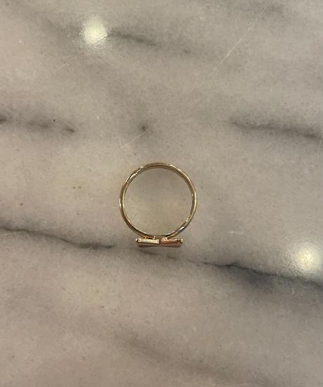 Chloe/  vintage ribbon design ring.(P)