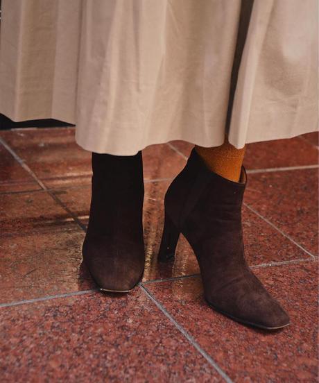 CELINE / Vintage suede boots.
